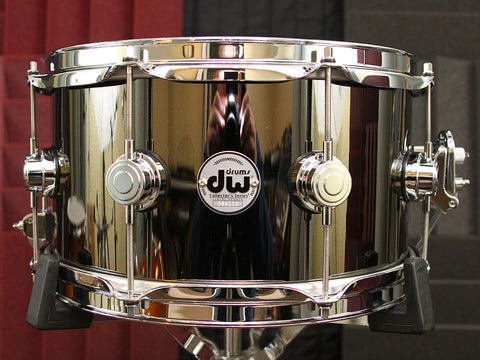"DW Collectors Black Nickel Over Brass 7"" x 13"" Snare"