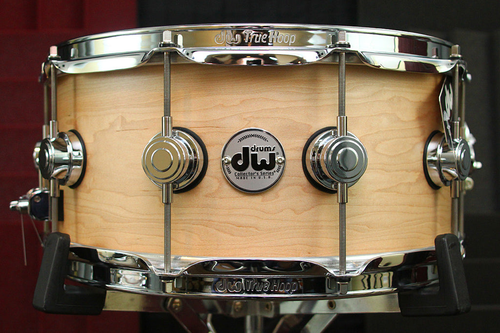 "DW Collectors Solid Shell Maple 6.5"" x 14"" Snare"