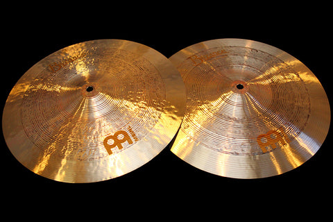 "Meinl Byzance Jazz 14"" Tradition Hi Hats (904 & 1010g)"