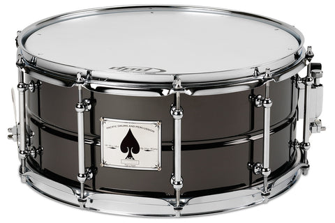 "PDP Ace 6.5"" x 14"" Black Nickel Over Brass Snare"