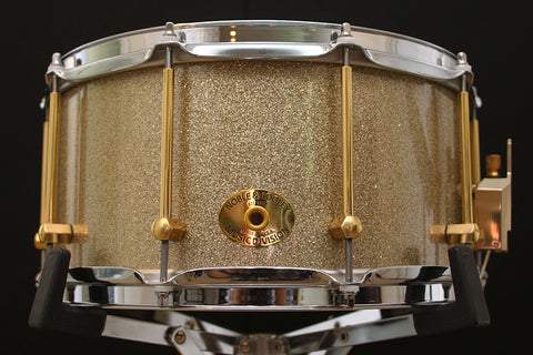 "Noble & Cooley Solid Shell Classic Walnut 7"" x 14"" Snare"