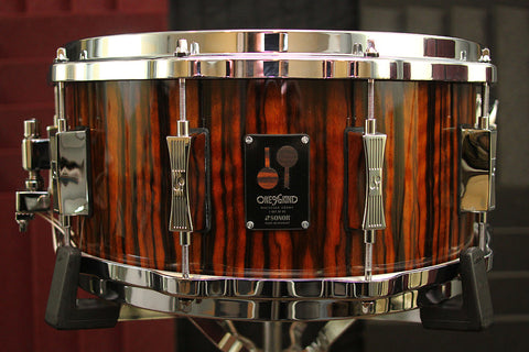 "Sonor One of a Kind Macassar Ebony 6.5"" x 14"" Snare"