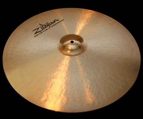 "Zildjian Sound Lab Prototype 22"" Staccato Ride (2652g)"