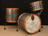 A & F Drum Co Raw Steel Bop Kit