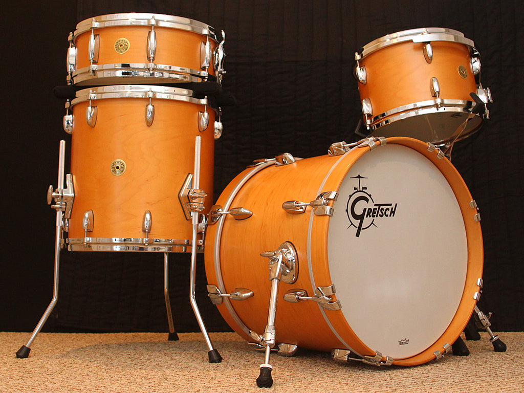 Gretsch USA Custom Bop Kit + Free Cases!