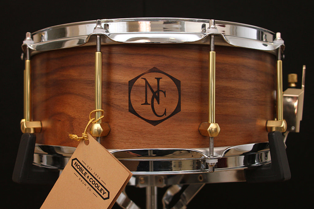 "Noble & Cooley 6.5"" x 14"" Walnut Ply Snare"