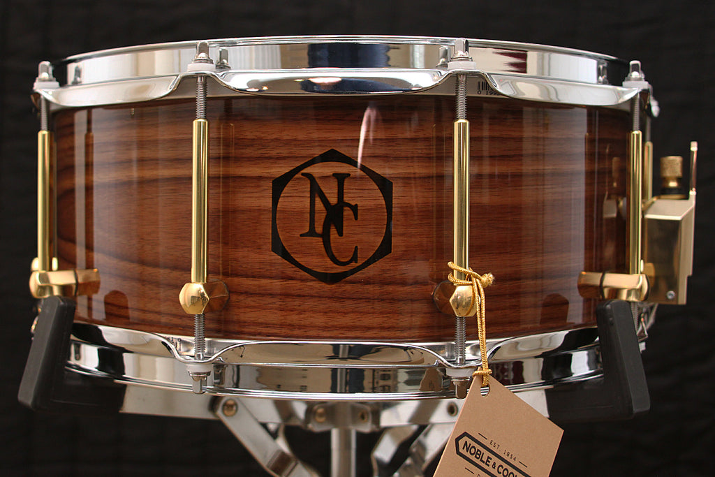 "Noble & Cooley Solid Shell Classic Walnut 6"" x 14"" Snare"