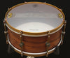"A & F Drum Co 6.5"" x 14"" Walnut Club Snare"