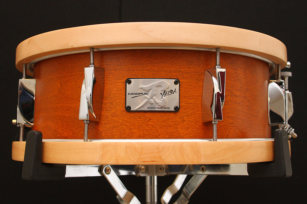 "Canopus Yaiba II 5.5"" x 14"" Maple Snare (Wood Hoop Model)"