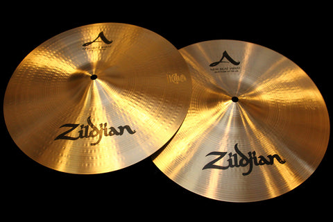 "A. Zildjian 14"" New Beat Hats (899 & 1440g)"