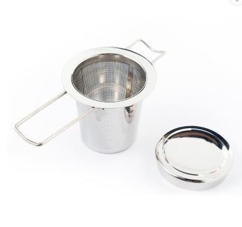 Happy Leaf Tea Co. Reusable Stainless Steel Tea Infuser