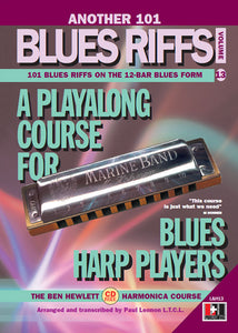 Another 101 Blues Riffs harmonica course. Learn harmonica online
