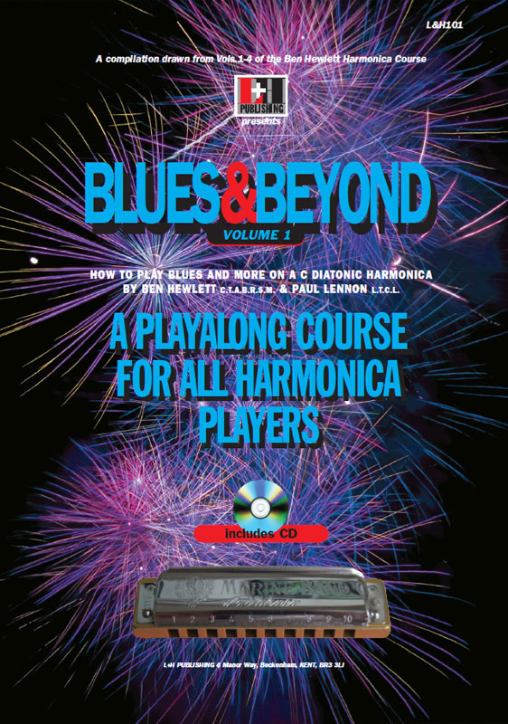 Blues and beyond harmonica course. Learn harmonica online