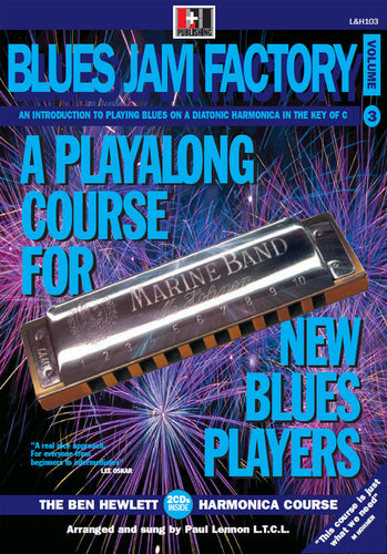Blues Jam Factory harmonica course. Learn harmonica online