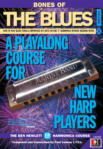 Bones of the Blues harmonica course. Learn harmonica online