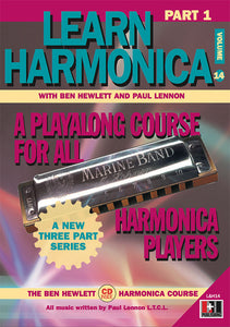 Learn Harmonica Part One downloadable book