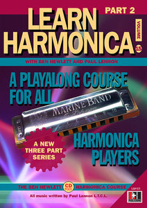 Learn Harmonica Part 2 downloadable book