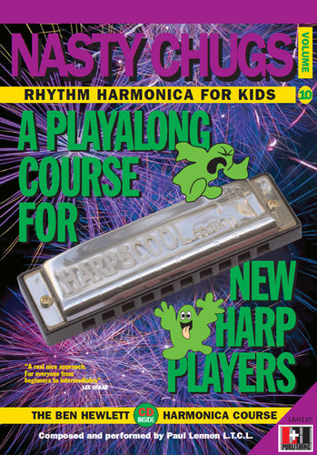 Nasty Chugs harmonica course. Learn harmonica online