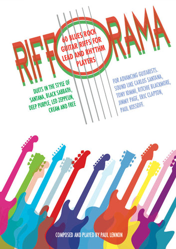 Rifforama - 60 Blues Rock Guitar Riffs For Lead and Rhythm Players