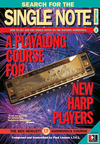 The Search for the Single Note harmonica course. Learn harmonica online