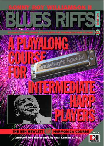 Sonny Boy Williamson II Blues Riffs harmonica course. Learn harmonica online