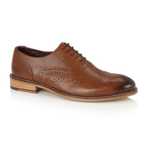 Gatsby Chestnut Brogue