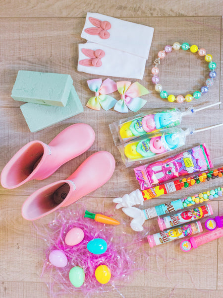 Sparkle In Pink Easter rain boot fillers