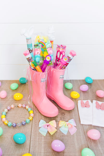 Sparkle In Pink Easter boot idea