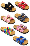 Birkley Double Bow Sandals - MANY COLORS! Footwear Sparkle In Pink