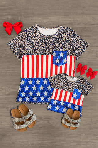 4th of July Baby Boy Summer Outfits Sleeveless T-Shirt and American Flag Stars Shorts Independence Day Clothes Sets