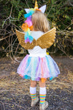 Mom & Me Unicorn Costume- INCLUDES COMPLETE 4 PC SET! - Sparkle in Pink