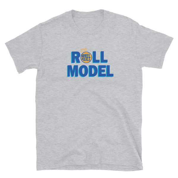Roll Model Wheel Axle - Short-Sleeve Unisex T-Shirt