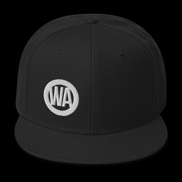 Wheel Axle - Original Embroidered Snapback Hat