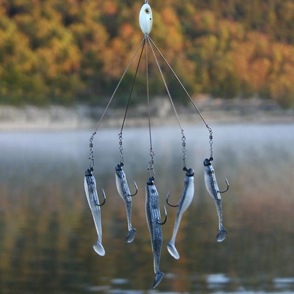 HOW TO FISH UMBRELLA RIGS FOR BASS