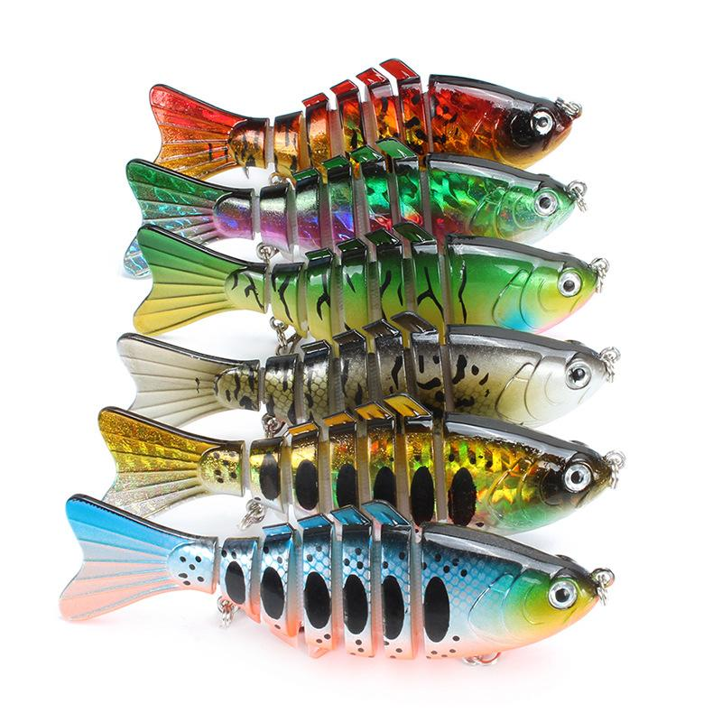 Fishing Lures with a Tackle Box, Lifelike Fishing Lures Bass Lures Set