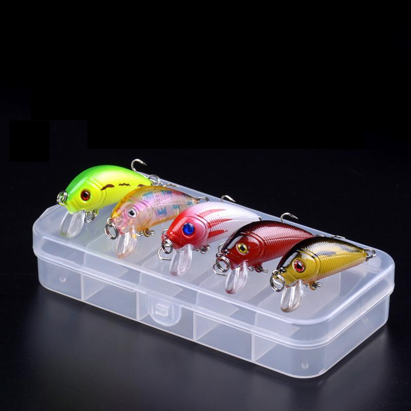 OhCoolstule™ Fishing Lure Kit Minnow Floating Lure With Box 5Pcs 4g - OhCoolstule