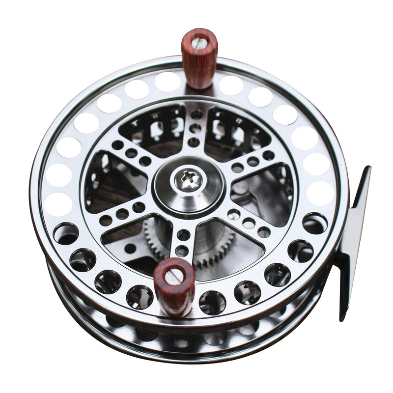 OhCoolstule™ FLOAT REEL CENTER PIN TROTTING REEL 108mm 4 1/4 INCHES CNC MACHINED ALUMINUM SALMON STEELHEAD FISHING - OhCoolstule