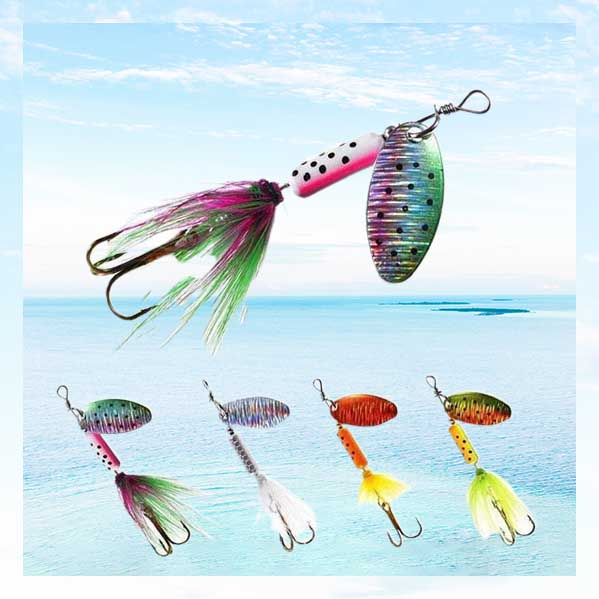 OhCoolstule™ Fishing Lures Metal Sequin 5pcs 6.7cm 4g