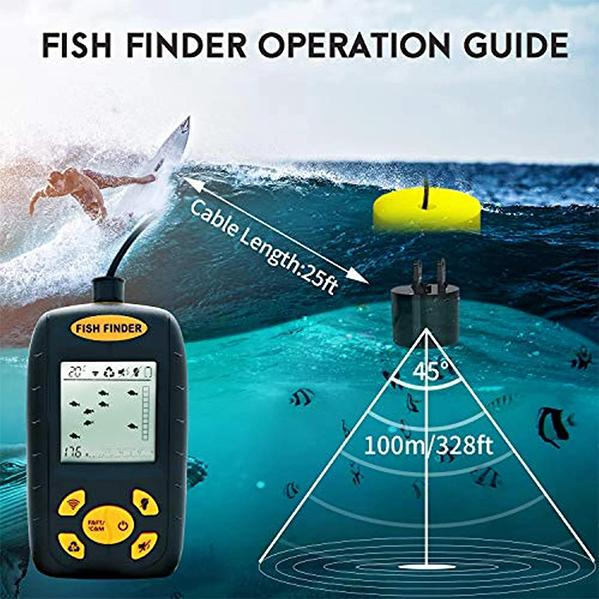 OhCoolstule™Fishing Accessories Portable Fish Finder - OhCoolstule