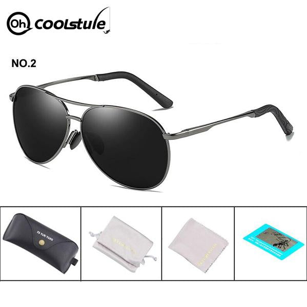 OhCoolstule™ Fishing Accessories Fishing Sunglasses Pilot Outdoor - OhCoolstule