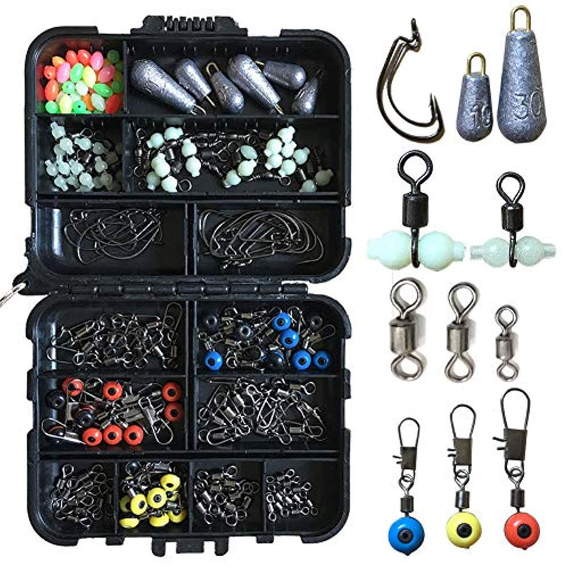 OhCoolstule™Fishing Bait Rigs Fishing Accessories Kit Jig Hooks 177Pcs - OhCoolstule