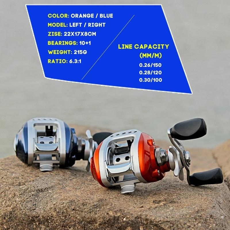 1.8-3.3M Carbon Fiber Telescopic Fishing Reel and Casting Reel Right or Left Fishing Reels - OhCoolstule