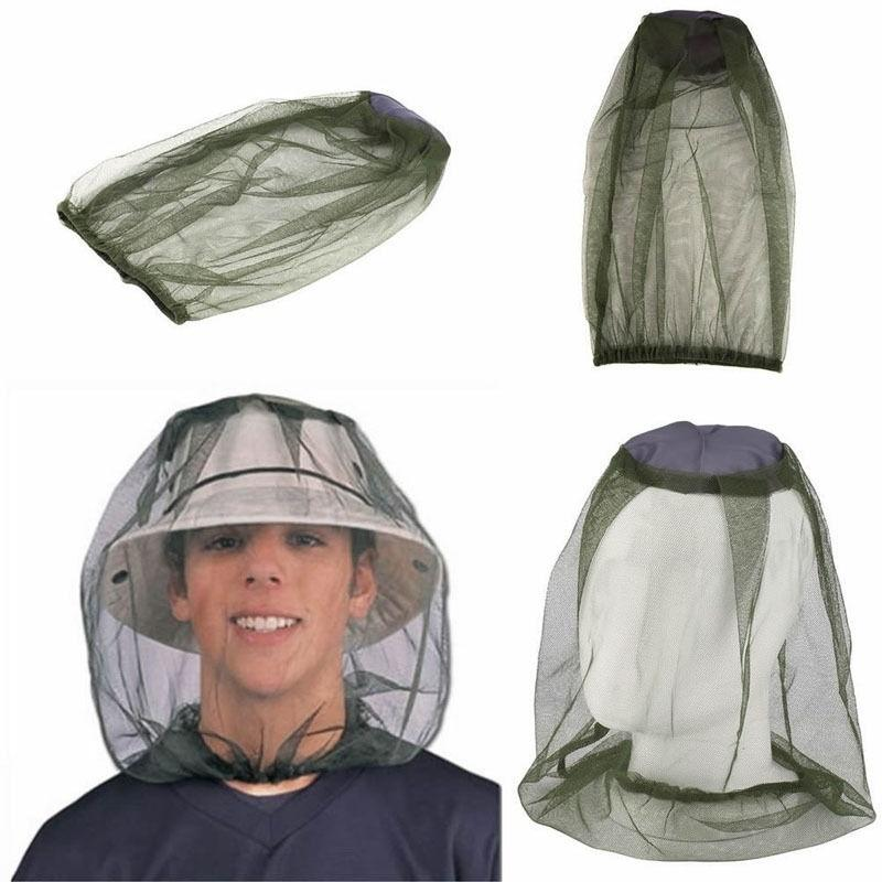 Useful Midge Mosquito Insect Hat Bug Mesh Head Net Face Protector Travel Camping - OhCoolstule