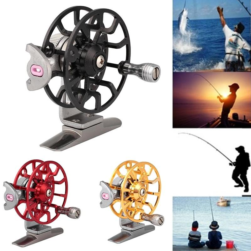 Baitcasting Bait Crank Cast Reel Rod Ice Fishing Trolling Right - OhCoolstule
