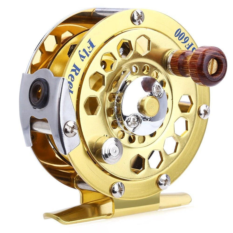 OhCoolstule™ Full Metal Aluminum Fly Fishing Reel Former Sea Ice Fishing Reel Vessel Wheel 3/4# 5/6# 7/8# Fly Fishing Reel Wheel - OhCoolstule