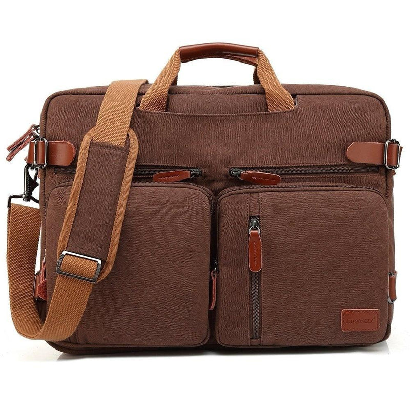 CoolBELL 15.6/17.3 inch Business Briefcase Convertible Backpack Shoulder bag Messenger Bag Laptop Case Travel Rucksack - OhCoolstule