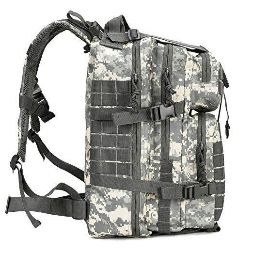 40L Military Tactical Assault Pack Backpack Army Molle Waterproof Bag Out Bag Small Rucksack for Outdoor Hiking Camping Hunting - OhCoolstule