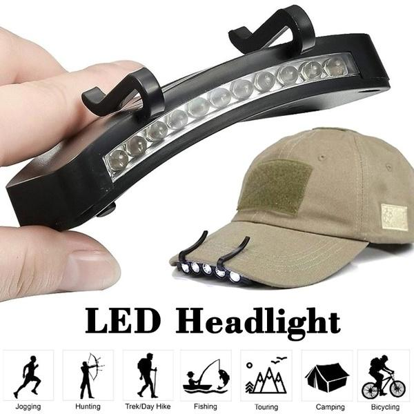 LED Energy Saving Headlight HeadLamp Flashlight Clip-On Cap Hat Torch Head Light Lamp for Outdoor Fishing Camping Hunting Super Bright - OhCoolstule