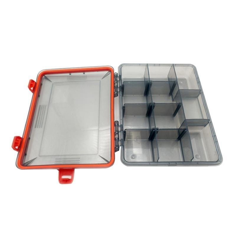 Waterproof Visible Plastic Clear Fishing Lure Bait Hooks Fishing Tackle Accessory Storage Box Case Container - OhCoolstule