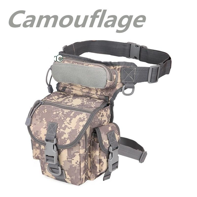 2019 Newest Leg Bag Packs Multifunctional Hiking Hunting Camping Fishing Tactical Outdoor SWAT Sports Fashion Military Camouflage Waterproof Pockets - OhCoolstule